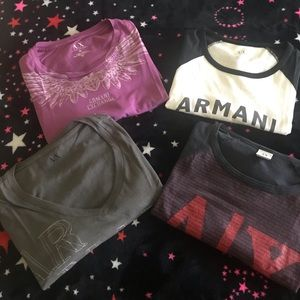 Armani Exchange t-shirt bundle